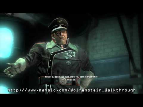 Wolfenstein Walkthrough - Mission 6 - General Zetta Boss Fight