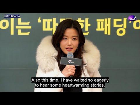 [EngSub] Jun Ji Hyun At Warm World Campaign 2019- I'll Comeback Next Year- Kingdom 2 Drama (2020)!