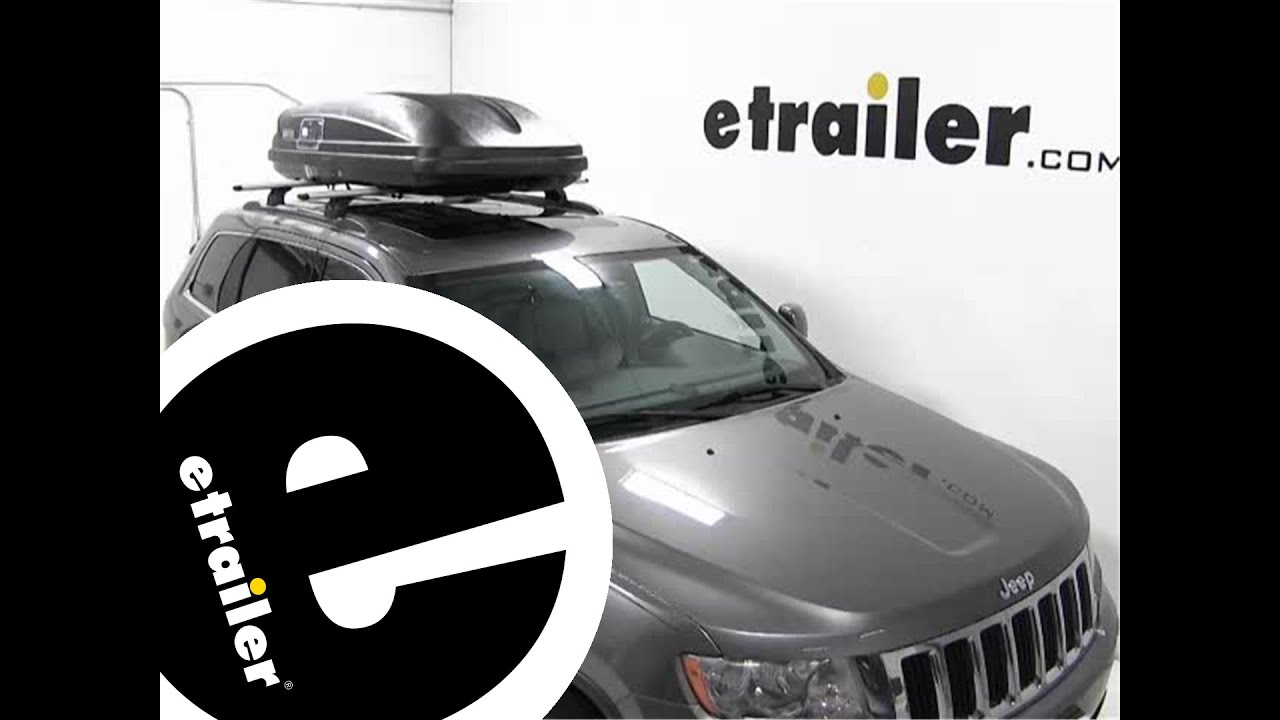 Review Of The Thule Pulse Xl Rooftop Cargo Box On A 2012