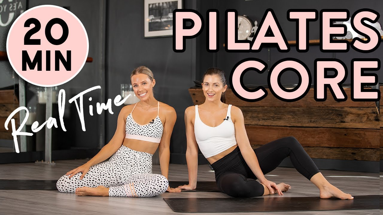 Core & Ab Pilates Home Workout   20min REAL TIME workout