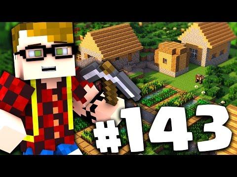 MINECRAFT: HO TROVATO UN VILLAGGIO!! IL PIANO DEI POLLI!! #143 - Видео из Майнкрафт (Minecraft)