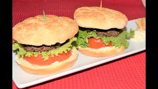 Amerikan Usulu Hamburger Tarifi - Fatma Ceylan - Yemekler