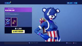 'NEW' FIREWORKS SKINS - FIREWORKS TEAM LEADER! (Fortnite's 4th of July Item Shop Update) 2019