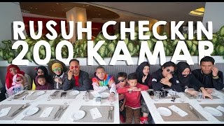 Check in ± 200 rooms Pullman KualaLumpur - Gen Halilintar Tour 2017