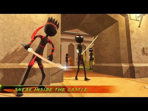 Stickman Shadow Hero Ninja (by Toucan Games 3D) / Android Gameplay HD