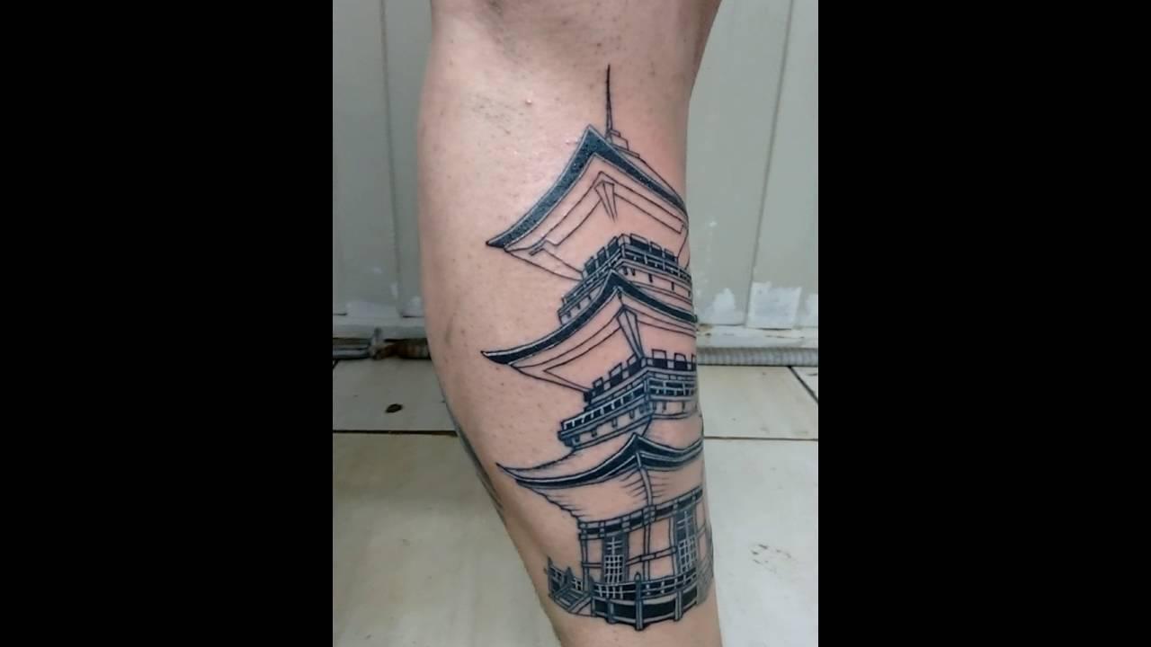 gueixa templo tatuagem youtube