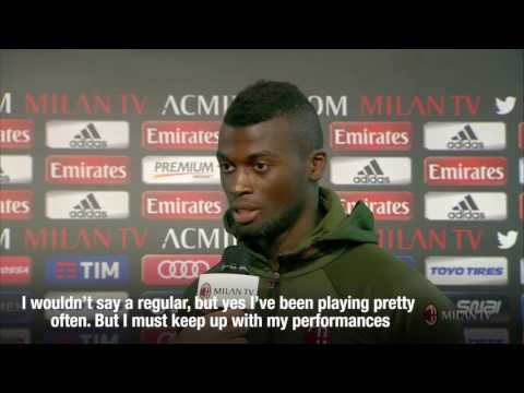 M'baye Niang's exclusive interview to Milan TV