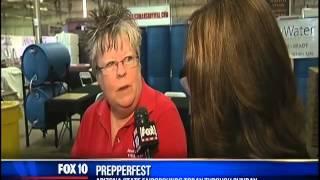 PrepperFest Expo Spring 2014 Fox10 Coverage