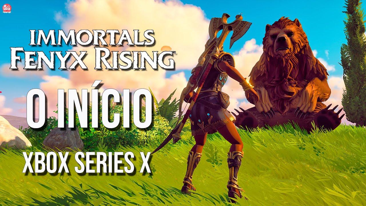 IMMORTALS FENYX RISING - O INÍCIO DE GAMEPLAY, em Português PT-BR   Xbox Series X [ 4k 60fps ]