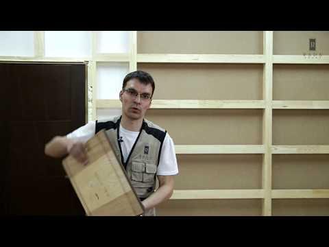 видео: Монтаж шпонированных МДФ панелей на стену