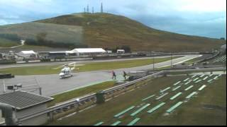 Jason Plato leaving Knockhill