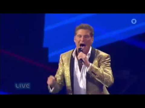 David Hasselhoff - Crazy for you   German TV ARD Schlagerbooom 10/21/2017