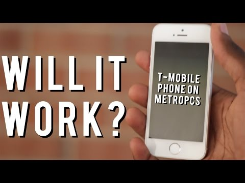 Will a T-Mobile iPhone work on metroPCS?