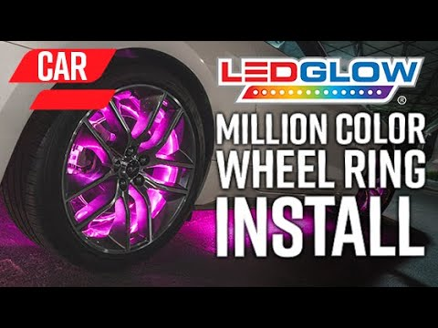 LEDGlow | How To Install An LED Wheel Ring Lighting Kit