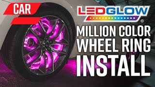 LEDGlow | How To Install An LED Wheel Ring Lighting Kit On A Car