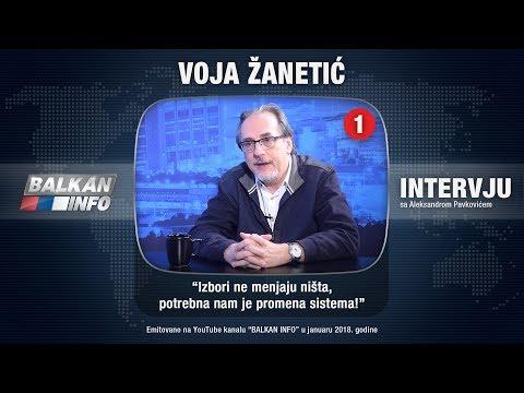 INTERVJU: Voja Žanetić - Izbori ne menjaju ništa, potrebna nam je promena sistema! (22.01.2018)