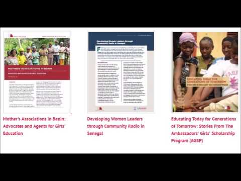 Girls' and Women's Education