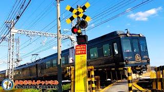 【Train】 Railroad Crossing video in Japan #25【scenery】
