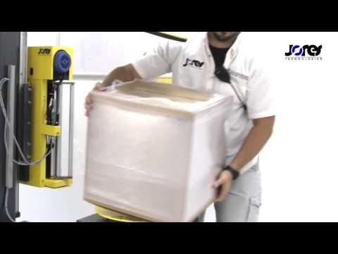 Jorestech Turntable Stretch Film Box/Case Wrapper, Model STR 6000