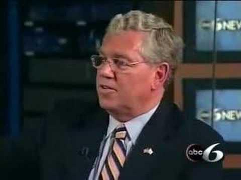 Governor Carcieri on ABC6 with Jim Hummel Part 3