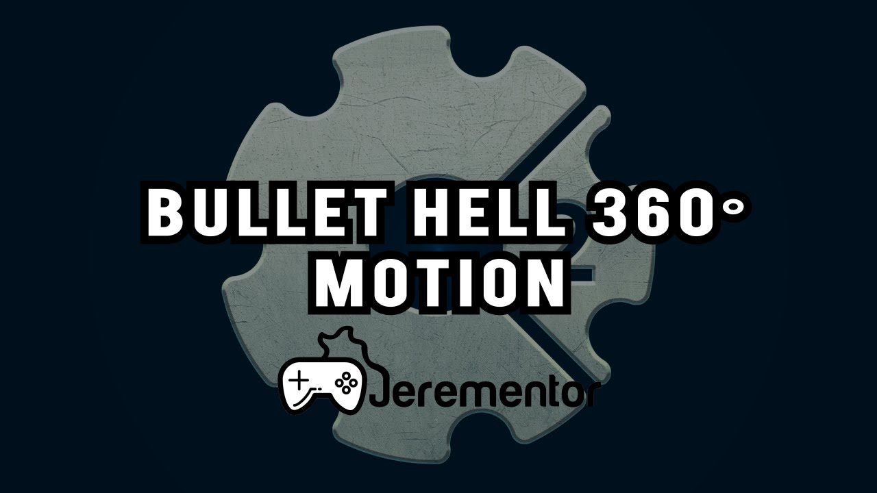 How to make a Bullet Hell Bullet with 360° MOTION! - Scirra com