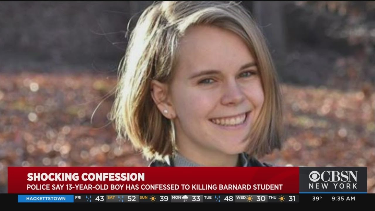 13-Year-Old Boy Arrested in Killing of Tessa Majors, 18, Barnard ...
