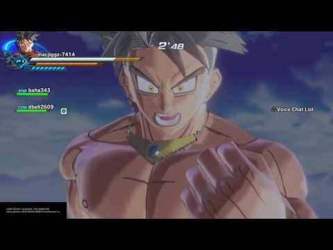 CHECK THIS GUY OUT HACKING DRAGON BALL XENOVERSE 2