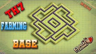 Clash Of Clans Best Town Hall 7 (TH7) Farming Base Design [New Updated]