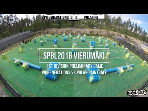 PH Generations vs Polar Paintball - SPBL2018 Vierumäki
