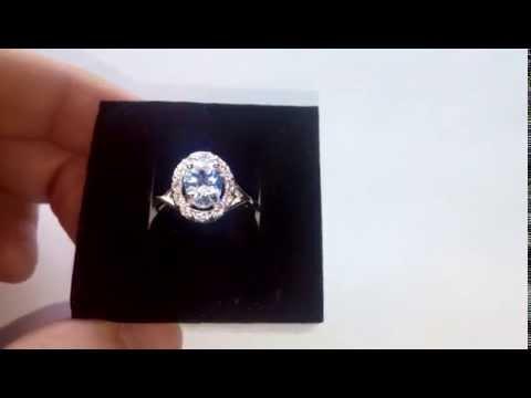 Кольцо с бриллиантом 1,75 ct