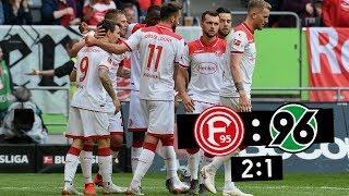 F95-Spieltag | Fortuna Düsseldorf vs. Hannover 96 2:1 | Gelungener Saisonausklang