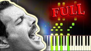 QUEEN - DON'T STOP ME NOW - FULL Piano Tutorial
