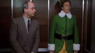 Elf the movie: Buddy meets Walter