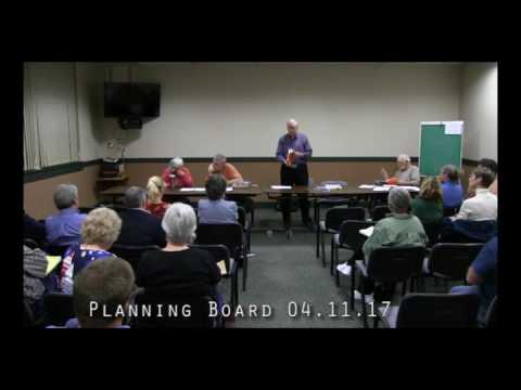 Planning Board 04.11.17