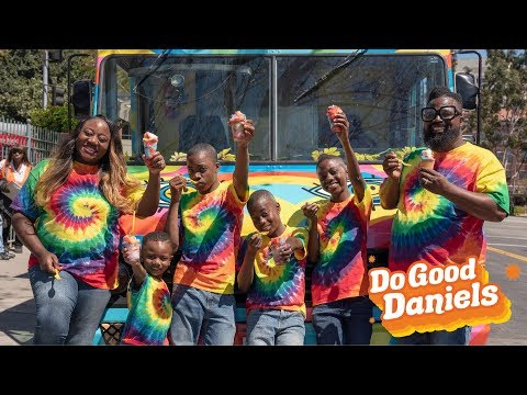 'Do Good Daniels': The Daniels Gift a Deserving School and Surprise a Homeless College Student