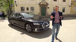 Is this just too much? Audi A8 TDI - test by Juraj Šebalj