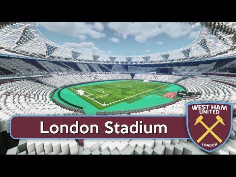 Minecraft - MEGABUILD - London Olympic Stadium (West Ham United FC) + DOWNLOAD [Official]
