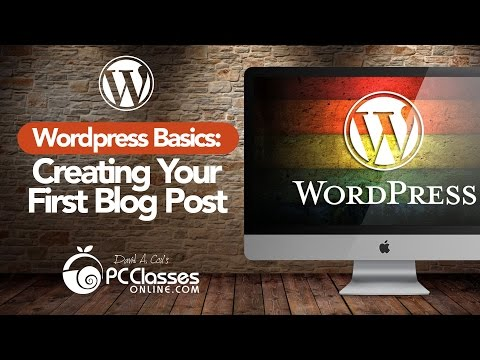 Your First WordPress Blog Post