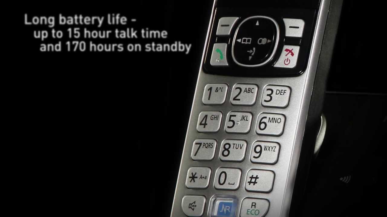 Stop nuisance calls: Digital Phones - Panasonic KX-TG682 Cordless Phones