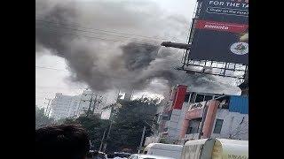 हैदराबाद गैस लीक होने से रेस्त्रां में लगी आग 10 घायल