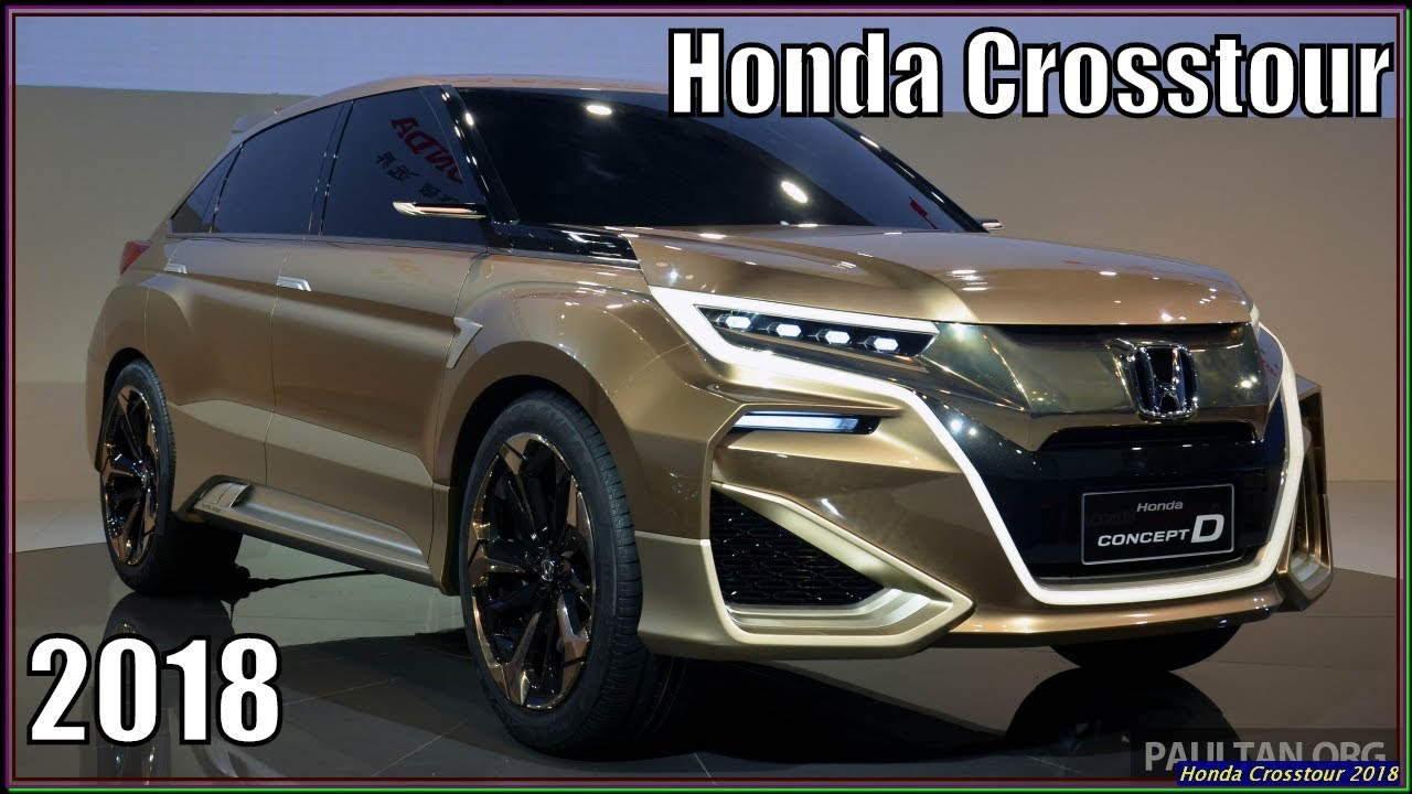 New Honda Suv >> New Honda Crosstour 2018 Review And Specs Best Suv From Honda