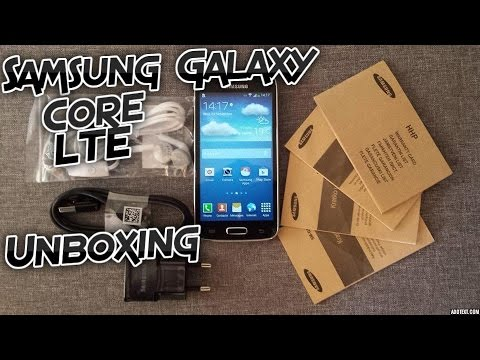 Samsung Galaxy Core LTE 4G SM-G386F Unboxing
