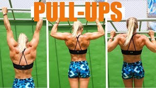 HOW TO DO YOUR FIRST PULL UP - 4 EASY EXERCISES