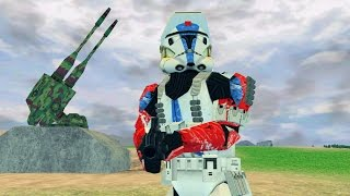 Star Wars Battlefront 2 Mods - Designated Days - All Battle Crisis Gameplay