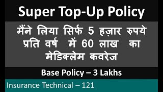 Super Top Up Policy : 60 Lacs coverage in 5,000 yearly : Health connect supra - Liberty Insurance