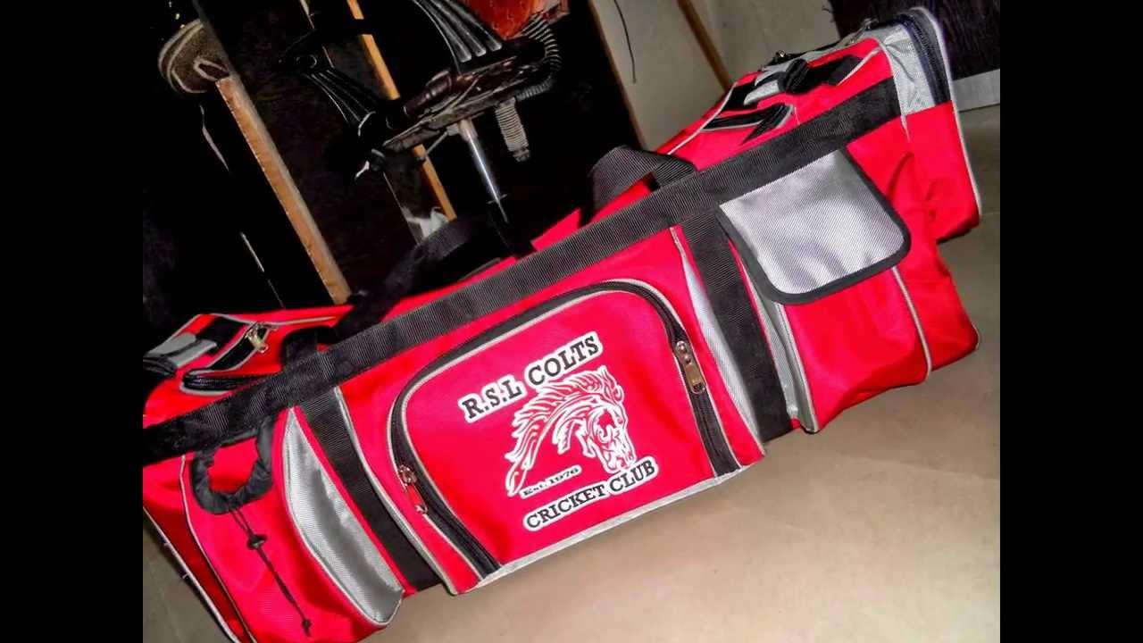 309de003d060 Custom Kit Bags by XTreme Cricket USA - YouTube
