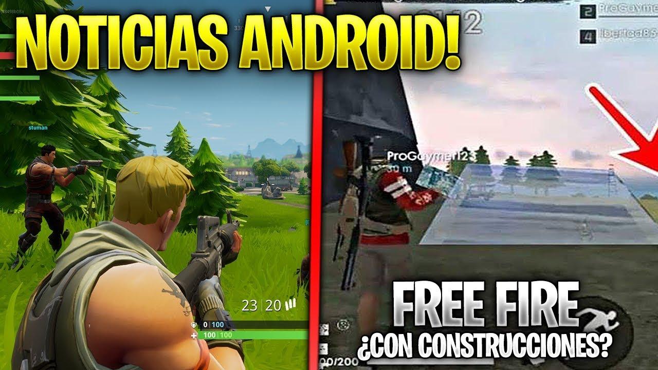 Fortnite Android En Psp Free Fire Construcciones Y Netease Juegos
