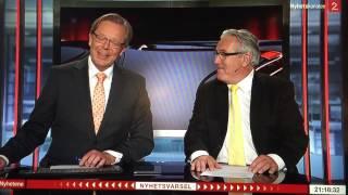 Davy Wathne får latterkrampe på direkte TV