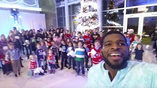 PK Subban & Air Canada | #CanadaCarols For A Great Cause