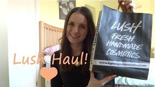 Lush Haul - Sensitive Skin Special!